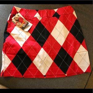Loudmouth Women's Golf skirt NWT